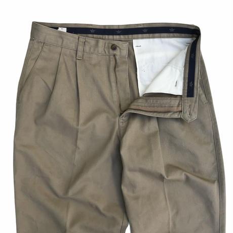 DOCKERS / Cotton 2 Tuck Slacks / Beige / Used