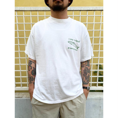 Made in USA / Trout Fishing Tee / White / Used