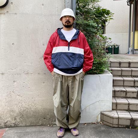 00's GAP / Nylon Anorak / Red × White × Navy / Used