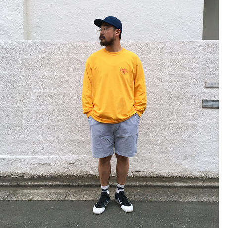 Color at Against ORIGINALS / C&C Long Sleeve TEE / YELLOW