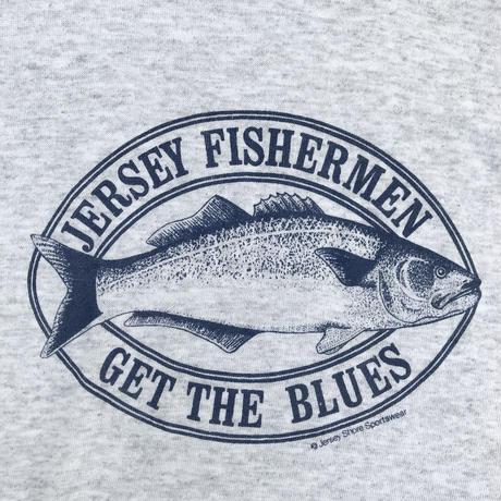 Made in USA / Fisherman Tee / Ash / Used