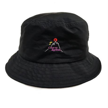 Color at Against Original /  Hotspot Bucket Hat / Black