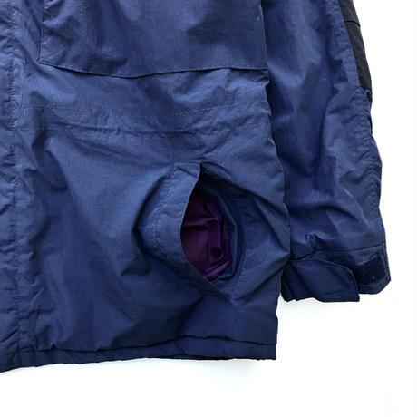 90s Woolrich / Polartec Fleece Lined Nylon Jacket / Navy / Used