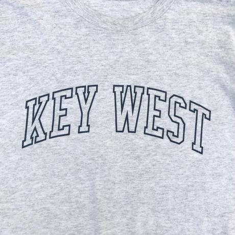 """""""KEY WEST"""" Tee / Ash / Used"""