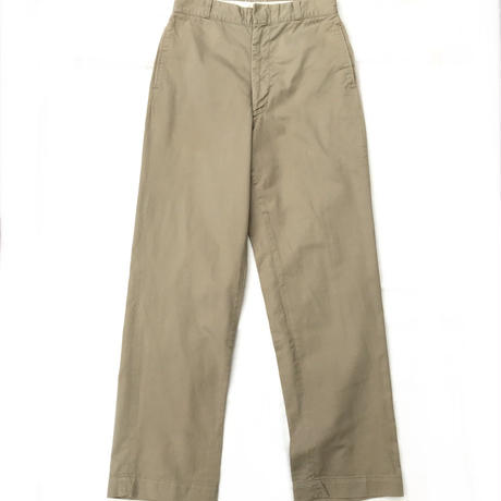 60s USMC / Cotton Chino Pants / Beige