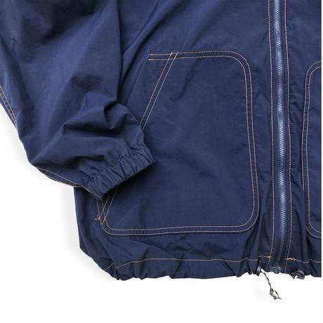 90's Columbia / Nylon Full Zip Jacket / Navy S (M相当) / Used