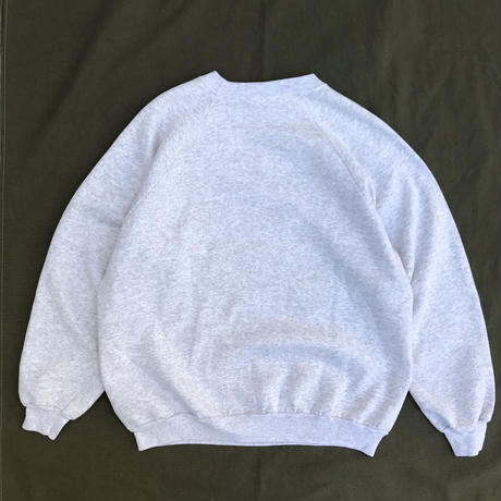Made in USA / L/S Camp & Fishing  Sweat Shirt /  Ash  / Used