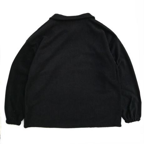 Made in USA / Half Zip Fleece Pullover / Black / New