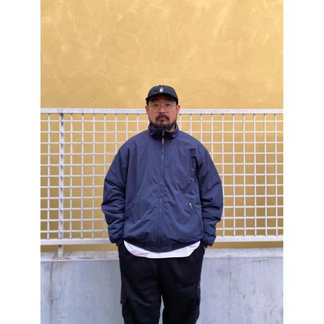 00s L.L.Bean / Fleece Lined Nylon Jacket / Navy / Used