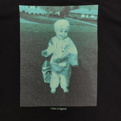 """Color at Against Originals  / """"Bucci & Philip"""" L/S Tee / Black"""