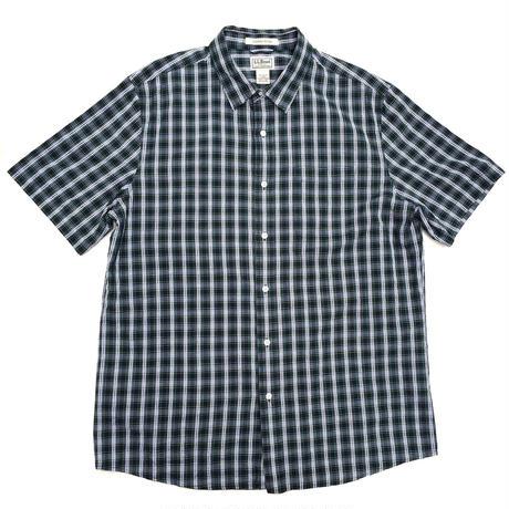 L.L.Bean / S/S B.D Check Shirt / Green Check / Used