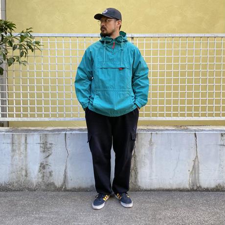 80s Eddie Bauer / Nylon Anorak  / green / Used