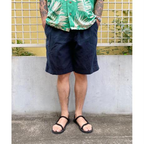 Banana Republic / 4Pocket Linen Shorts / Navy / Used(36)