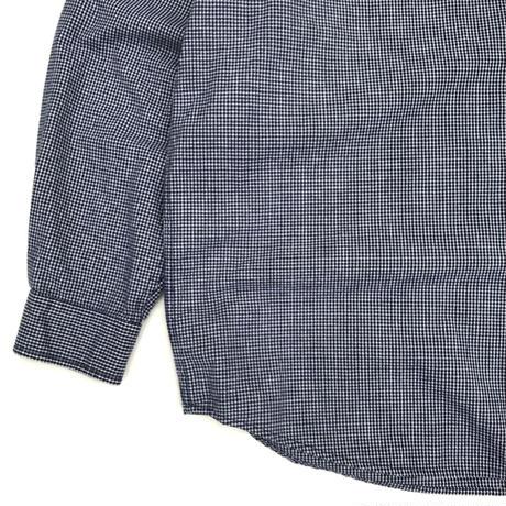 00s Eddie Bauer / B.D Check Shirt / Navy / Used