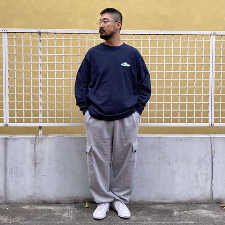 Color at Against ORIGINALS / Mother Ship L/S Tee / Navy
