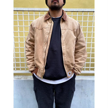 Carhartt / Santa Fe Jacket / Brown Duck / Used