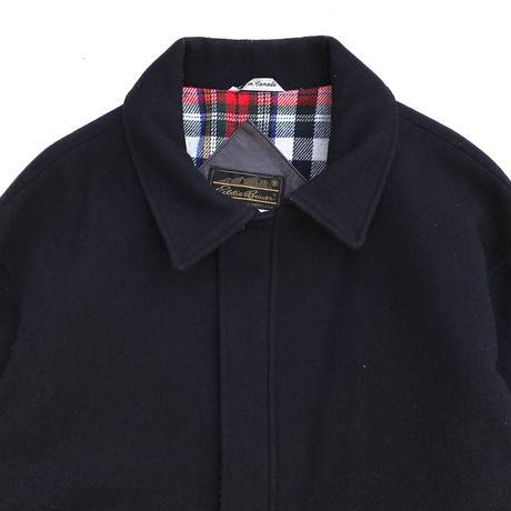 Made in CANADA / 80s Eddie Bauer / Wool Sport Jacket / Navy / Used