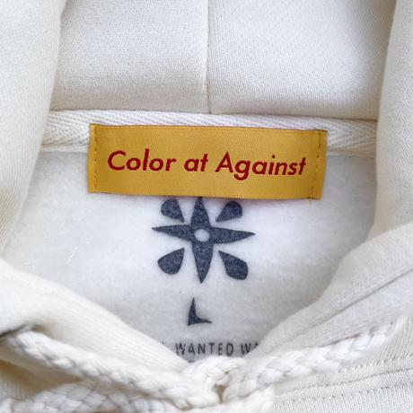 SUSHIGATABETAIDES × Color at Against / SUSHIGATABETAIDESⅡ Hoodie / Natural