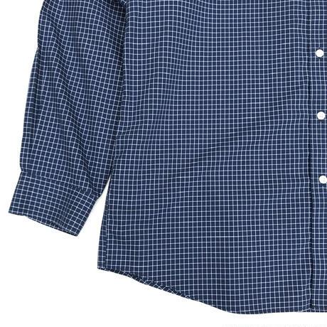 00s L.L.Bean / B.D Check Shirt / Navy × White Check / Used