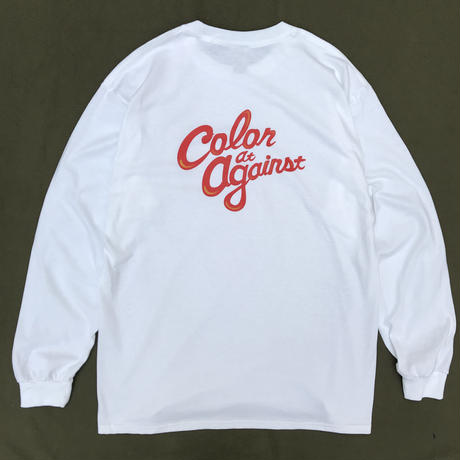 Color at Against ORIGINALS / C&C Long Sleeve TEE / White