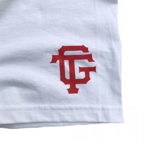 "Tokyo Gimmicks /""  Logo "" L/S Tee /  White"