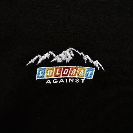 Color at Against Originals / Mountain Logo Hoodie / Black