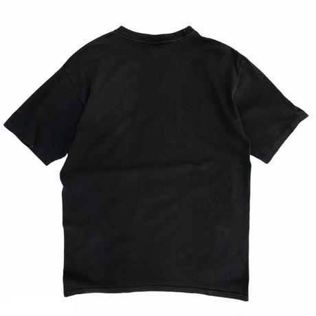 90's Reebok / Logo Print Tee / Back / Used