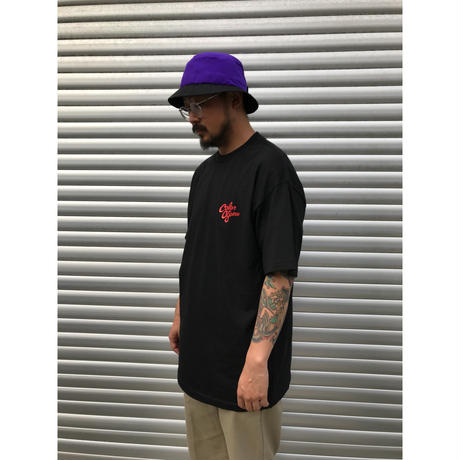 Color at Against ORIGINALS / C&C  TEE / BLACK