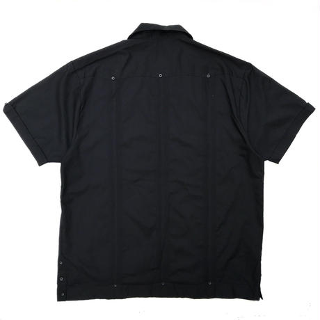 S/S Cuba Shirt / All Black / Used