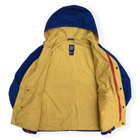 90's GAP / Full Zip Cotton Jacket / Blue S (L相当) / Used