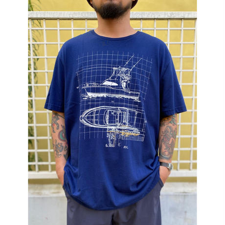 ST JOHN'S BAY /   Cruiser Tee / Navy / Used
