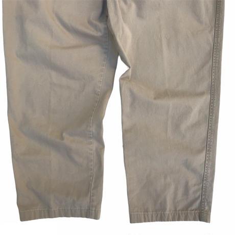 LANDS'END / Cotton 2 Tuck Slacks / Beige / Used