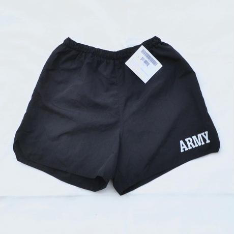 Dead Stock US ARMY / Training Nylon Shorts / Black