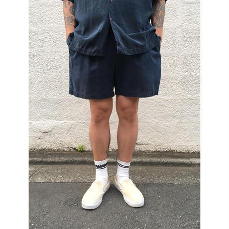 Polo Ralph Lauren / 2tuck Cotton Short  / Navy / Used