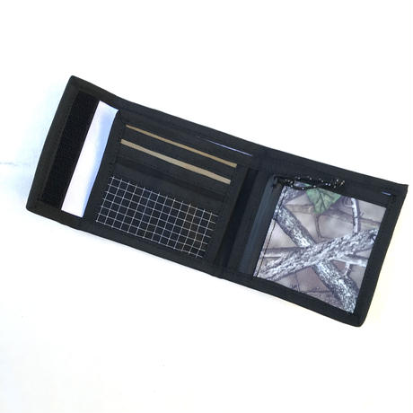 NERDY MOUNTAIN WORKS / DS WALLET / BLACK , COYOTE , REAL TREE