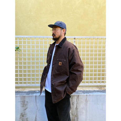 Made in USA / Carhartt / Blanket Lined Chore Coat / Brown / Used