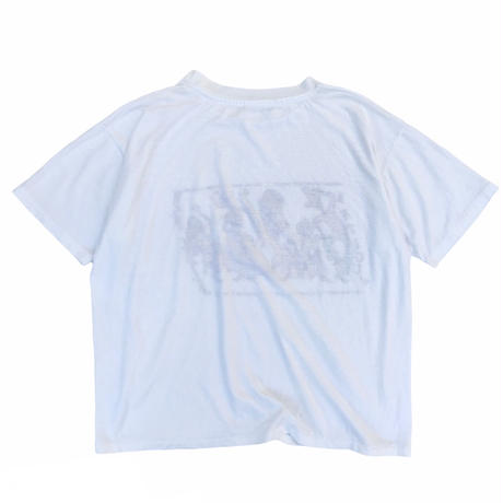 90's Antigua West Indies Band Tee / White / Used