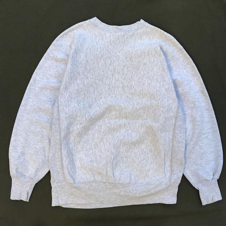 "Made in USA / 90s Champion / Reverse Weave Sweat ""DHOW"" / Heather Gray / Used"