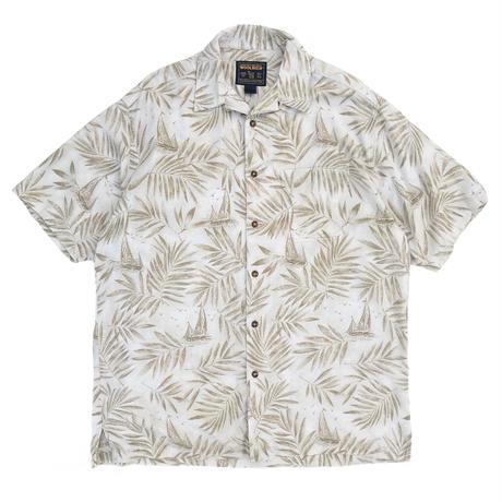 00's Woolrich / Resort Open Collar Shirt / Used