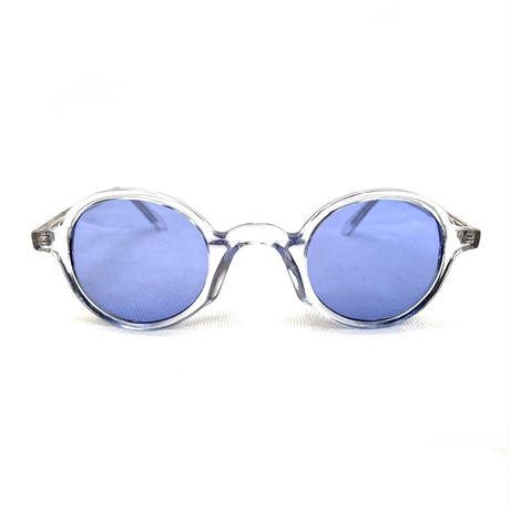 Bedlam / DEVOTIE CRYSTAL SUNGLASSES / Clear × Blue