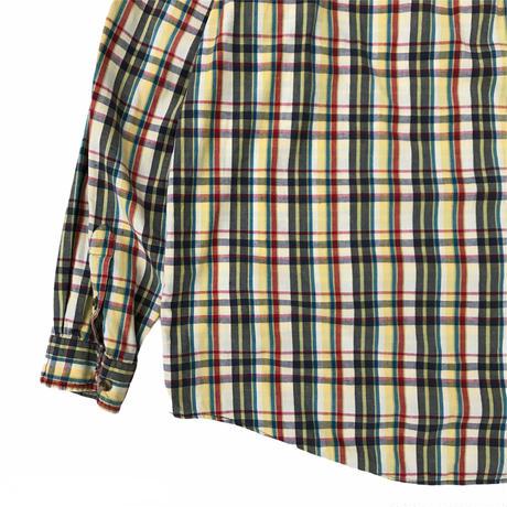 90's Eddie Bauer / Cotton Multi Check Shirt / Used
