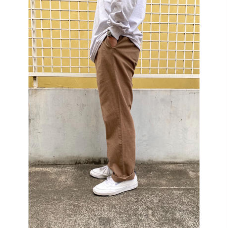 Polo Ralph Lauren / Cotton Herringbone Slacks / Beige / Used