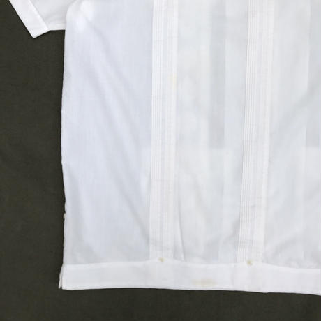 S/S Cuba Shirt / White / Used