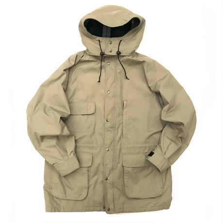 80s Eddie Bauer  / wool Lined Mountain Parka / Beige / Used
