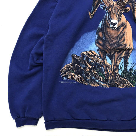 Made in USA / Animal Sweat / Blue / Used