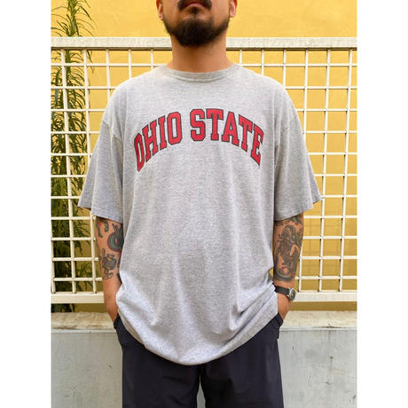 "Champion /  ""OHIO STATE"" Tee / Grey / Used"