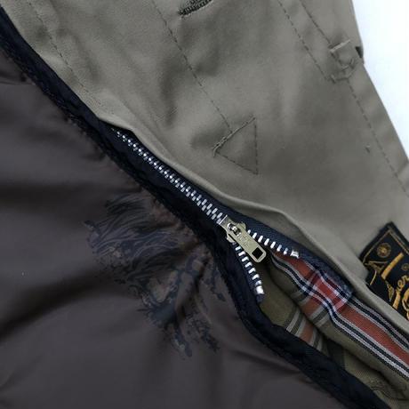 70-80s Eddie Bauer / Vintage 2way Stain Collar Coat / Beige / Used