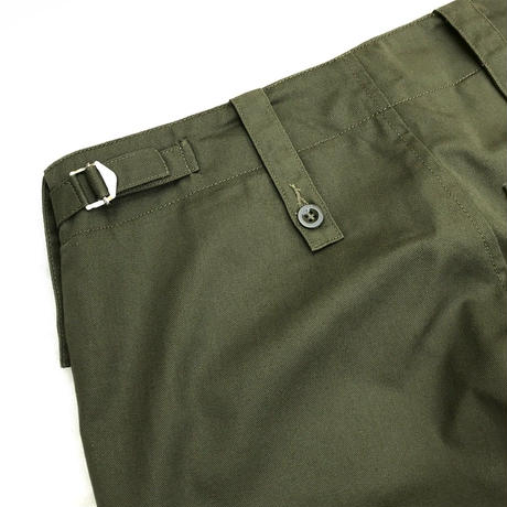 British Military /  Utility Baker Pants  / Olive  / Used