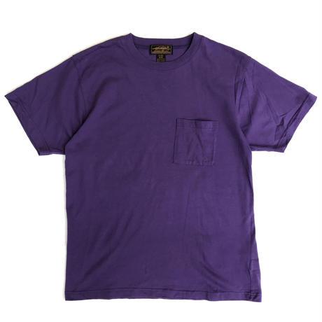 80s Eddie Bauer / S/S Pocket Tee / Purple /Used