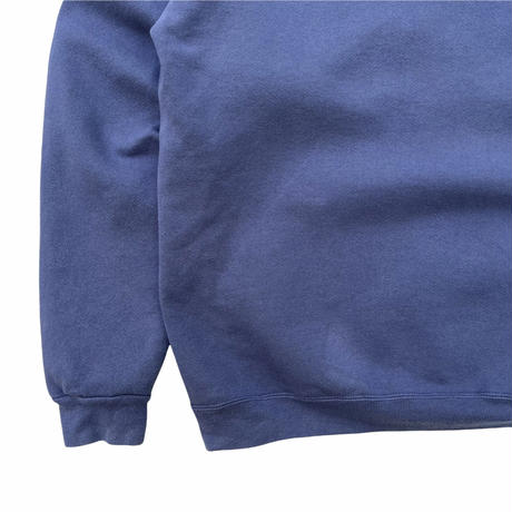 Made in USA / 80's Eddie Bauer / Printed Sweat / Navy XL / Used